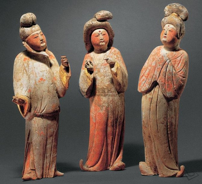 Kulaté velké tváře za čínské dynastie Tchang
