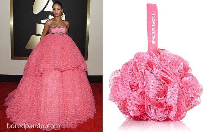 Rihanna, nebo houba na mytí?