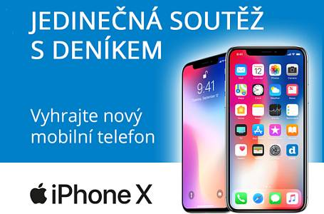 Vyhrajte s Deníkem iPhone X!
