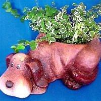 Květináč pes