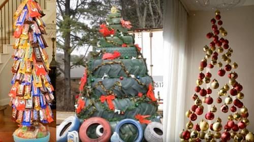 nejpotrhlejší vánoční stromečky
