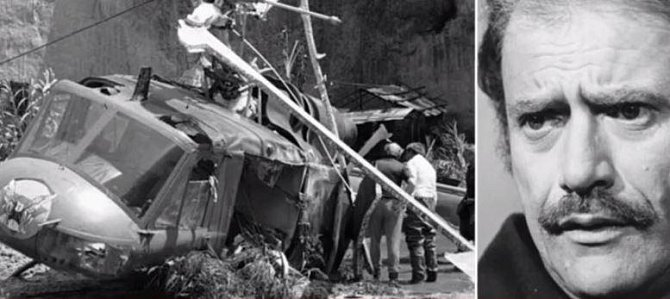 Vic Morrow - 1929 - 1982. Vic zemřel během natáčení, spadl na něj vrtulník. Spolu s ním zemřely i dvě děti, herečtí kolegové.