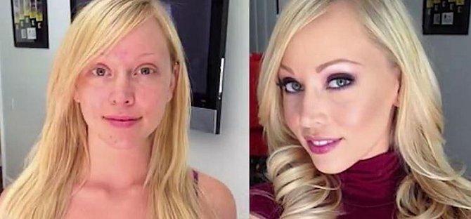 Brea Bennett - Devětadvacetileté blondýnka pracuje v pornoprůmyslu už jedenáct let. Za tu dobu získala už mnoho fanoušků. Ti ale nevěří svým očím, když spatří svou hvězdu odlíčenou. Pravá tvář Brey se totiž absolutně nepodob?...