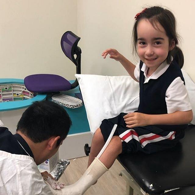 Isabella musí jít přes bolest, ale i tak dělá ohromné pokroky.