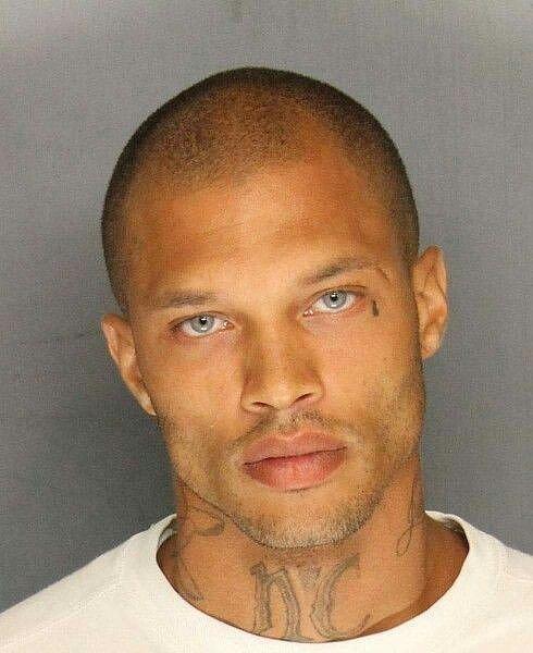 Jeremy Meeks - foto ze zatčení