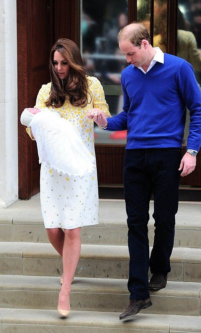 William je pozorný partner a starostlivý otec.