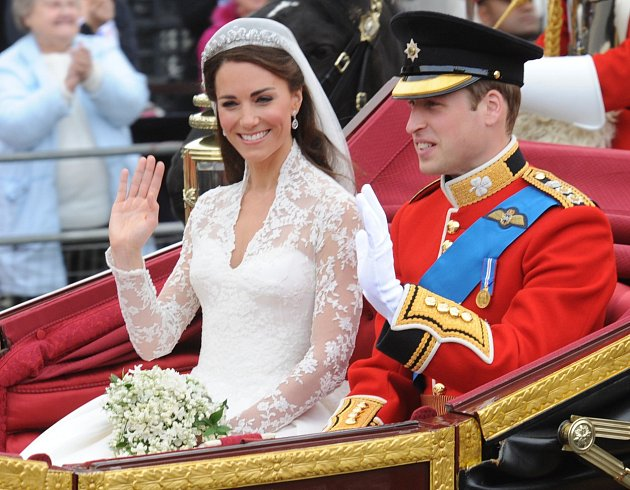 Kate Middleton si vroce 2011vzala prince Williama.