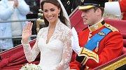 Kate Middleton si v roce 2011 vzala prince Williama.