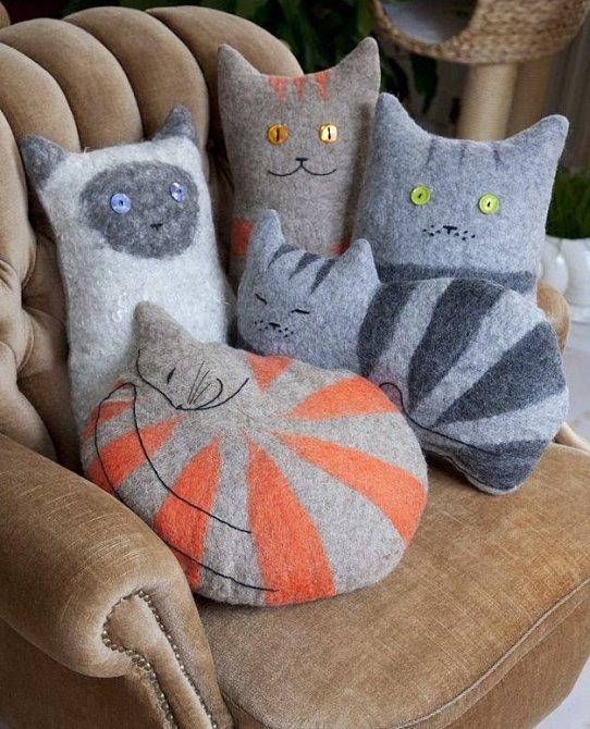 Kočičky ze svetru