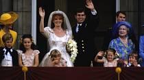 Ani princ Andrew a Sarah Ferguson spolu nenašli štěstí.