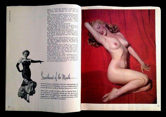 8. Za hambaté fotografie dostala v roce 1949 jen padesát dolarů. Hugh Hefner za ně poté zaplatil 500 dolarů, aby je mohl použít do speciálního inaguračního vydání časopisu Playboy a vydělal na nich majlant.