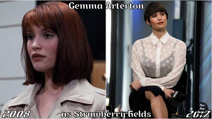 Herečka Gemma Arterton coby Strawberry Fields