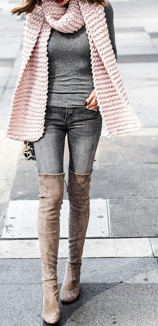 Překrásná módní inspirace od žen z masa a kostí! Přečkejte čekání na jaro v džínovině!