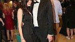 Karel Janeček se svou přítelkyní, která právem patřila mezi nejlépe oblečené ženy.