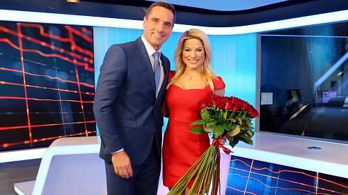 Roman Šebrle s Evou Perkausovou