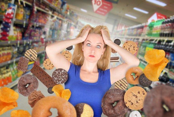 Nechoďte do obchodu hladová! Vždy až po jídle.