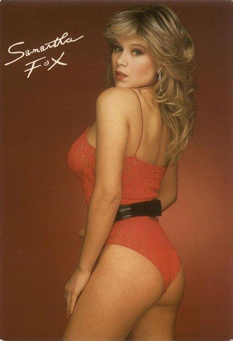 80. léta - Samantha Fox