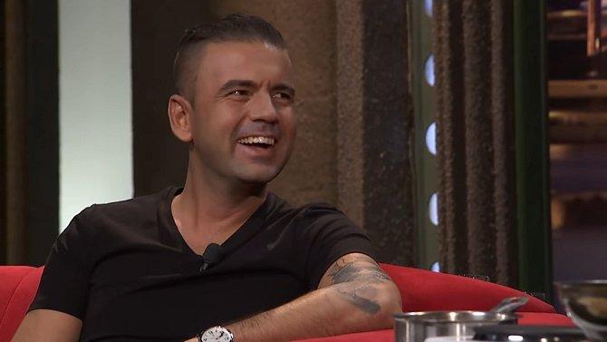 Radek Kašpárek v pořadu Show Jana Krause