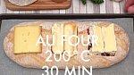 Směs naneste na tyčinky z chlebové kůrky. Dejte zapéci do trouby vyhřáté na 200 °C na cca 30 minut. Podávejte ještě teplé, aby se daly tyčinkami z chleba sýry dobře nabírat.