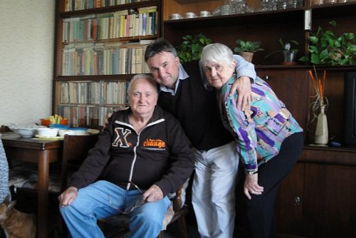 Jaroslav Sypal s rodiči