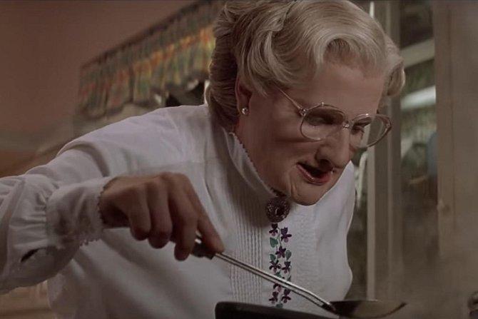 Naše nápověda: Hlavní postava ve filmu Mrs. Doubtfire