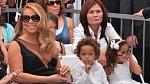 Mariah Carey se svými dvojčaty.
