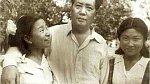 Li Na a Li Mi a jejich otec Mao Ce-tung