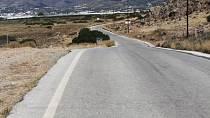 Zejména v horách se vám často stane, že na silnici budete široko daleko sami ...