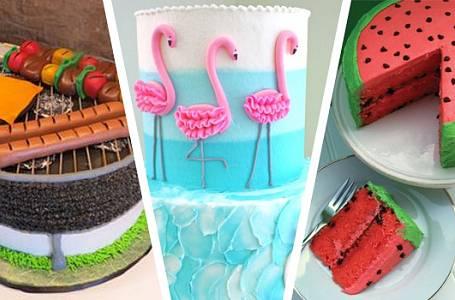 Inspirace pro letní dorty