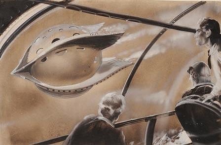 Zdeněk Burian: ilustrace knihy Přátele z Hadonoše. V této knize se dozvíte, jak si před více než 50 lety představoval autor život v budoucnosti, v době, ve které právě jsme.
