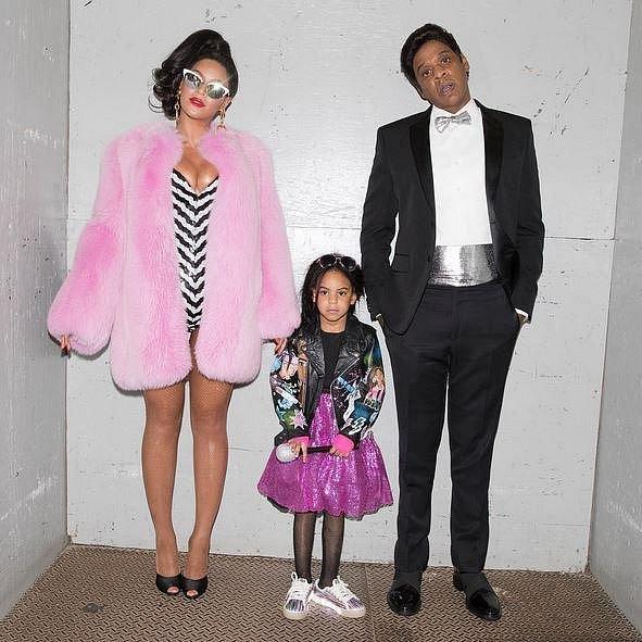 Beyoncé, Jay Z a jejich dcera Blue Ivy