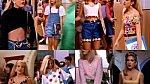 Letěly modely z Beverly Hills 90210 - ideálně odhalené pupíky