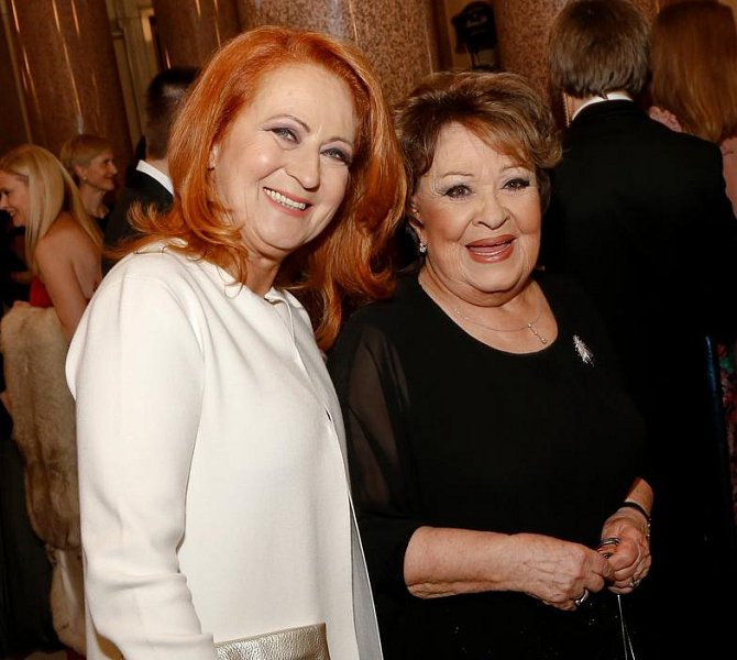 Simona Stašová s maminkou Jiřinou Bohdalovou