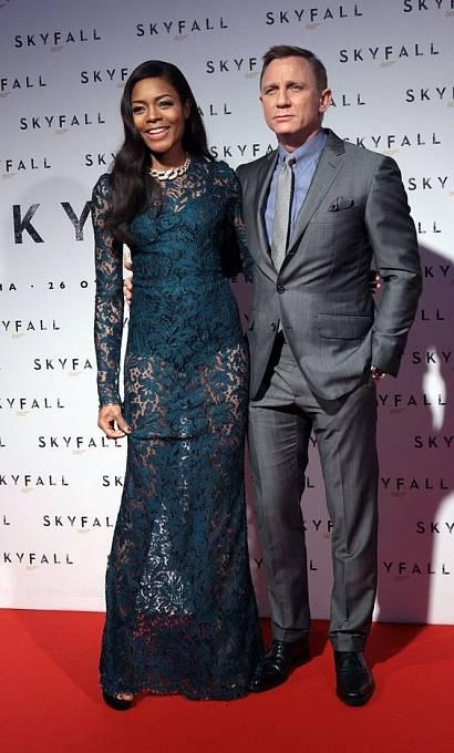 Daniel Craig a Naomie Harris