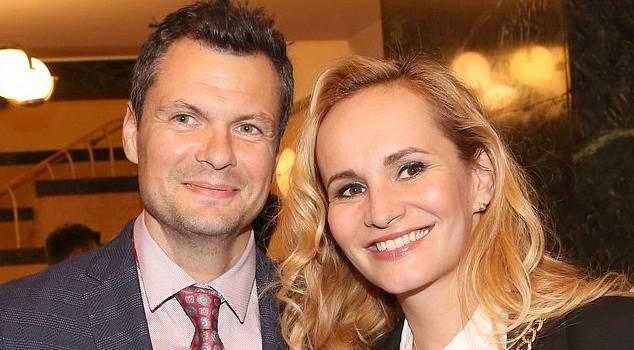 Monika Absolonová s ex partnerem Tomášem Hornou