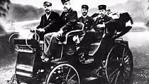 První automobil vznikl v tehdejším Rakousku-Uhersku v letech 1897-1898.
