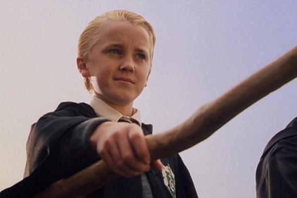 Harry Potter a Kámen mudrců - Tom Felton coby Draco Malfoy