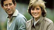 Charles a Diana
