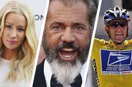 Těchto 10 celebrit si zničilo kariéru během několika vteřin!