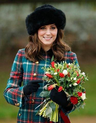 Vévodkyně Kate se kožešinám nebrání.
