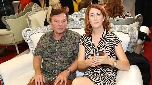 Pavel Trávníček s manželkou Monikou