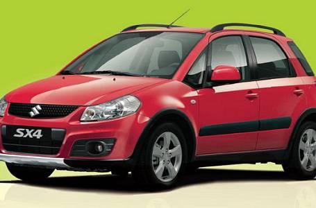 Získejte Suzuki SX4 za 1 SMS