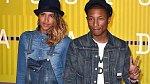 Pharrell Williams s manželkou Helen.