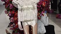 Modely z show Palomo Spaina na newyorském týdnu módy