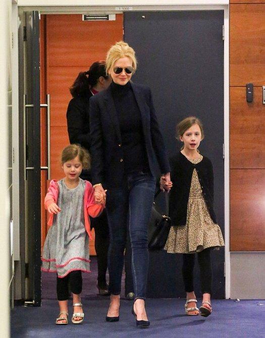 Nicole Kidman s dcerami