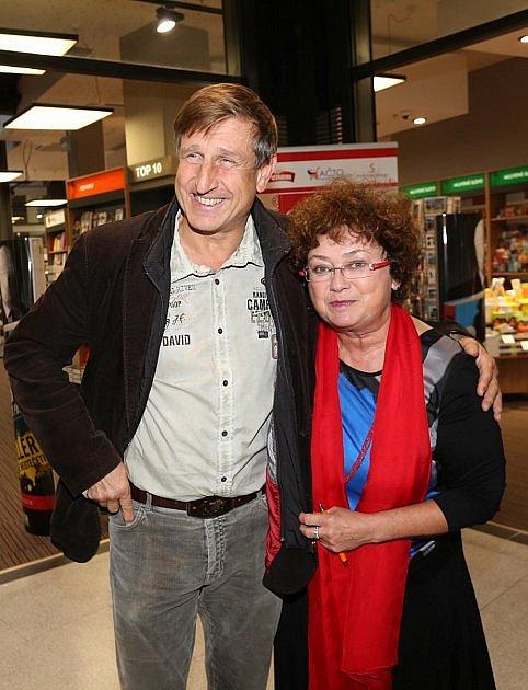 Václav Vydra a Jana Boušková