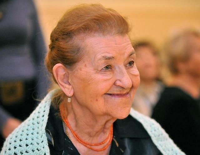 Věra Kubánková, herečka - Narození: 22.7. 1924, Košice, Československo - Úmrtí: 13.4. 2016
