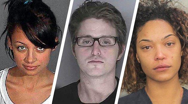 Snímky dětí celebrit z policejních archivů