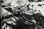 Ostatky oběti Katyňského masakru