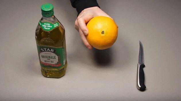 Jak vyrobit svíčku z pomeranče